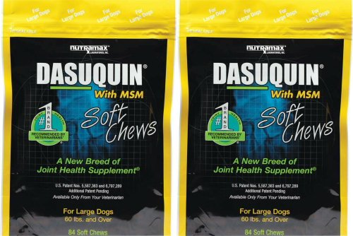 Nutramax Dasuquin Soft Chews w/ MSM for Large Dogs 168ct (2 x 84ct)