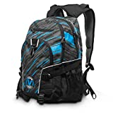 Virtue Wildcard Backpack with Padded Laptop/Notebook Compartment - Fits up to 15.4 Inch Laptop - Cyan