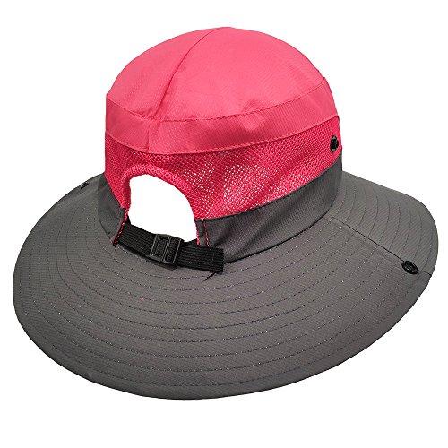 a46bfdf19fcb8 LETHMIK Outdoor Waterproof Boonie Hat Wide Brim Breathable Hunting Fishing  Safari Sun Hat