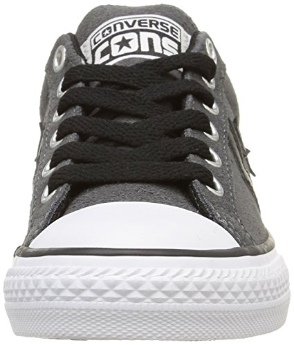 Sp Ox Lace gris – Converse Basse noir Sneaker Ev Bambini Unisex Grigio 6qwndH