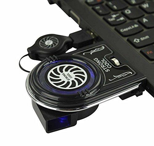 zhenbaotian Computer Zubeh/ör USB Air L/üfter Laptop K/ühler f/ür Notebook Cooling Pads Computer Externe CPU Suporte Para Notebook