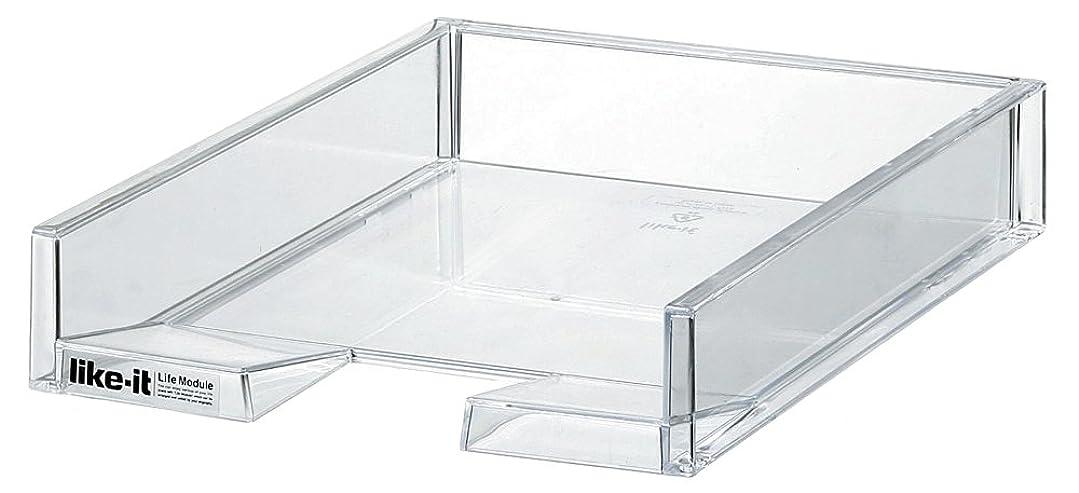 織機定規露骨なナカバヤシ レターケース 書類入れ A4 仕切板対応 5段 ホワイト A4E-S5W