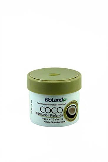 Amazon.com : Coconut Hair Treatment 350ml./Tratamiento Capilar De Coco 350ml : Beauty