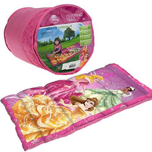 Disney Princess Sleeping Bag and Backpack