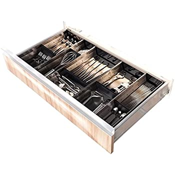 Amazon Com 218 Nika Stainless Steel Edition Cutlery Tray