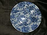 The Unique Gift Boutique-Royal Delft Decorative Decoupage Fabric Backed Plate