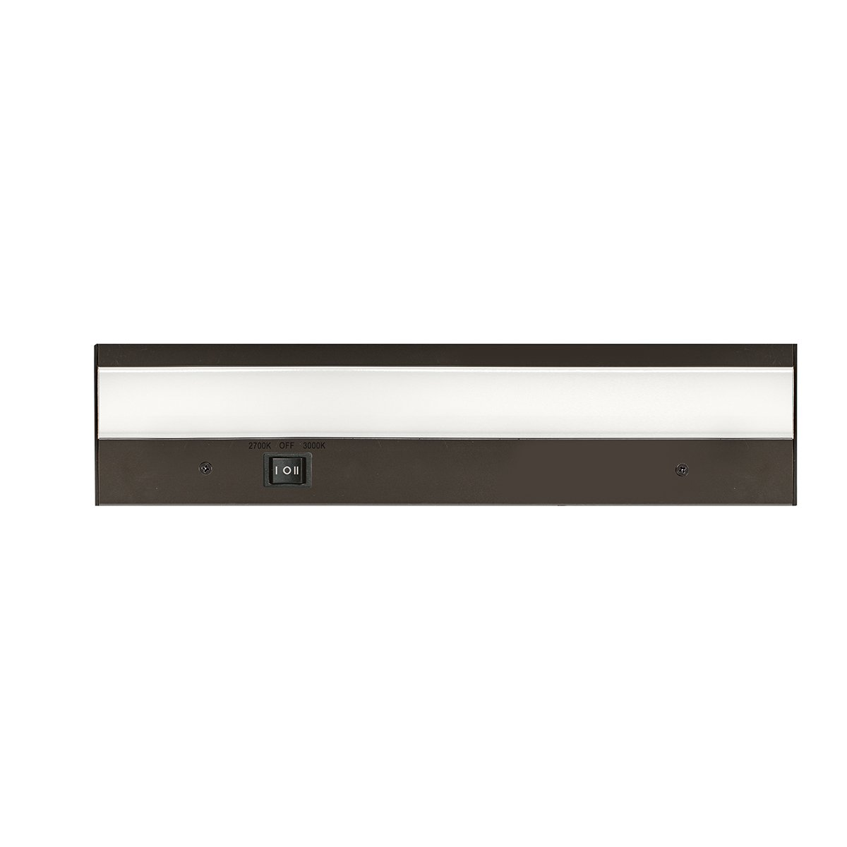 WAC Lighting BA-ACLED12-27/30BZ Duo Acled Dual Color Option Bar Finish 2700K and 3000K, 12 Inches, Bronze
