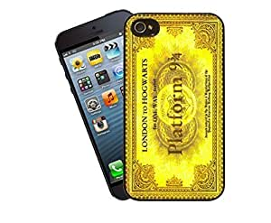 Harry Potter Ticket London To Hogwarts - black Hard Cover Case for iphone 6 case