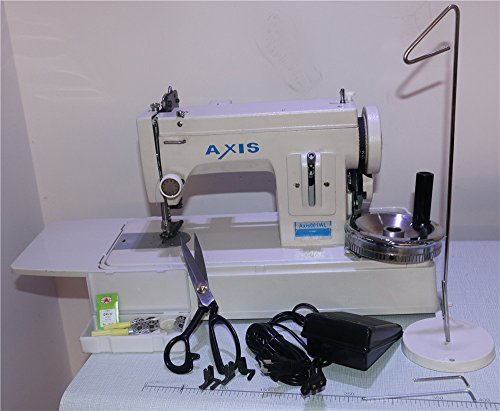 Axis Straight Stitch Walking Foot Leather Upholstery Sewing Machine