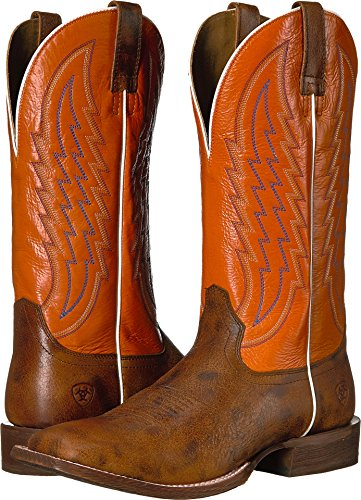 Ariat Men's Circuit Stride Western Boot Square Toe Brown 11.5 D by Ariat