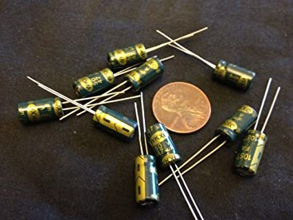10 Pieces 50v 47uf Electrolytic Capacitor 6x11mm Radial C14: Amazon
