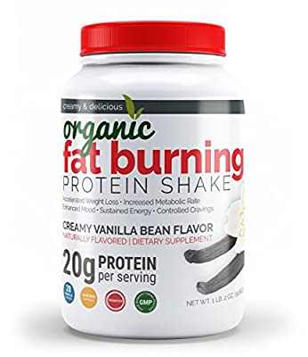 Organic Fat Burning Protein Shake