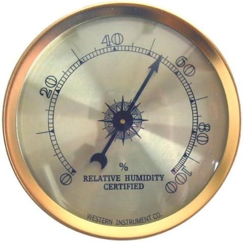 Cigar Oasis Analog Hygrometer
