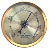 Analog Hygrometer by Western Humidor
