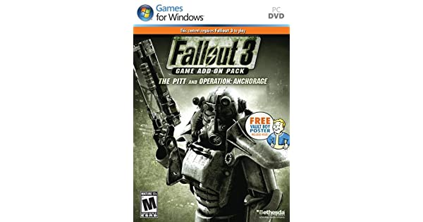 Amazoncom Fallout 3 Game Add On Pack Operation Anchorage And The