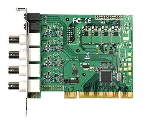 (DMC Taiwan) 4-ch H.264/MPEG-4 PCI Video Capture Card with SDK