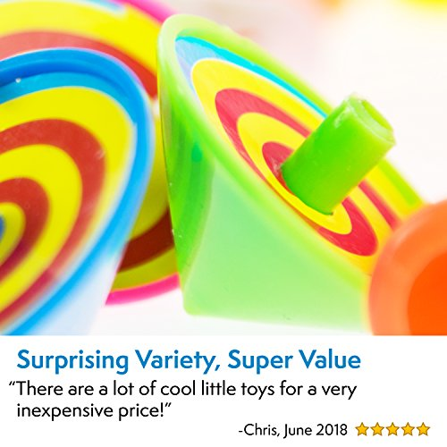 Party Favors for Kids Goodie Bags - 120 Pc Party Supplies Bulk Toys Pack for Birthday Goodie Bags Birthday Party Favors Pinata Filler Prizes and More by PartySticks (Image #3)
