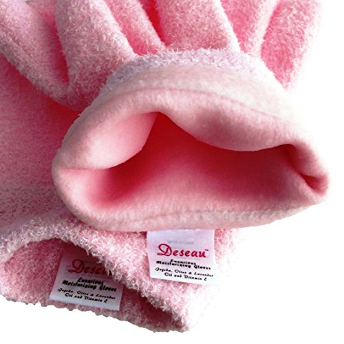 Deseau Moisturizing Gloves, Soft Cotton with Thermoplastic Gel Lining - One Pair by Deseau (Image #6)