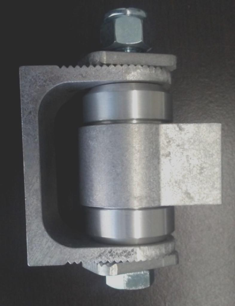 Pair of Adjustable Heavy Duty Hinges, Weld-on - Unpainted (Aluminum)