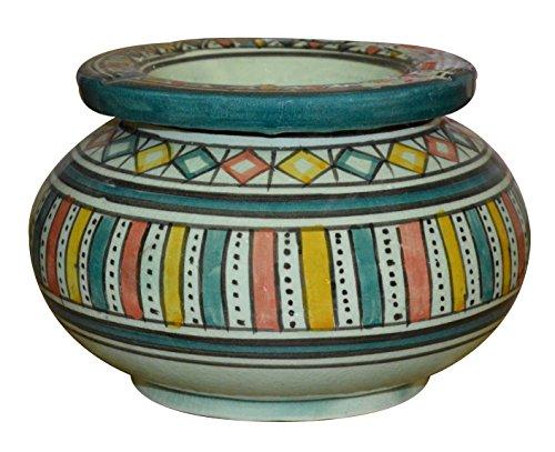 Moroccan Handmade Ceramic Ashtrays Smokeless Exquisite Extra