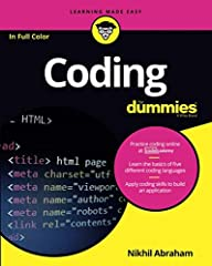 Coding For Dummies, (9781119293323) was previously published as Coding For Dummies, (9781118951309). While this version features a new Dummies cover and design, the content is the same as the prior release and should not be considered a new o...
