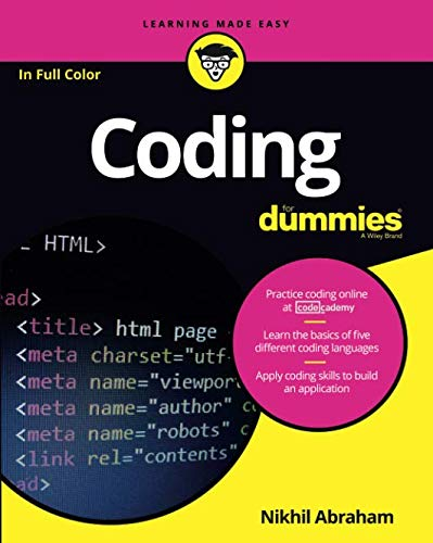Coding For Dummies (Best Computer For Web Development 2019)