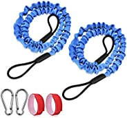 Nikou Bodyboard Surfing Coil Adjustable 5.5MM//5ft Wrist Leash Comfortable Board Surfing Accessories for Various Wrists Anchors