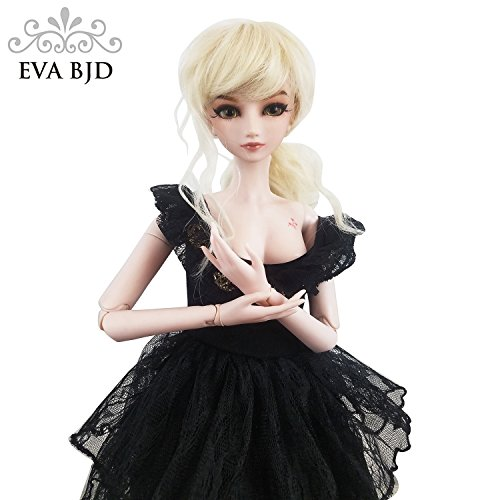 Charm Spy Jimmy 1/3 BJD Doll 24inch Ball Jointed Dolls Reborn Figure + Full Set Accessories + Shoes + Hair + Clothes by EVA BJD (Image #4)