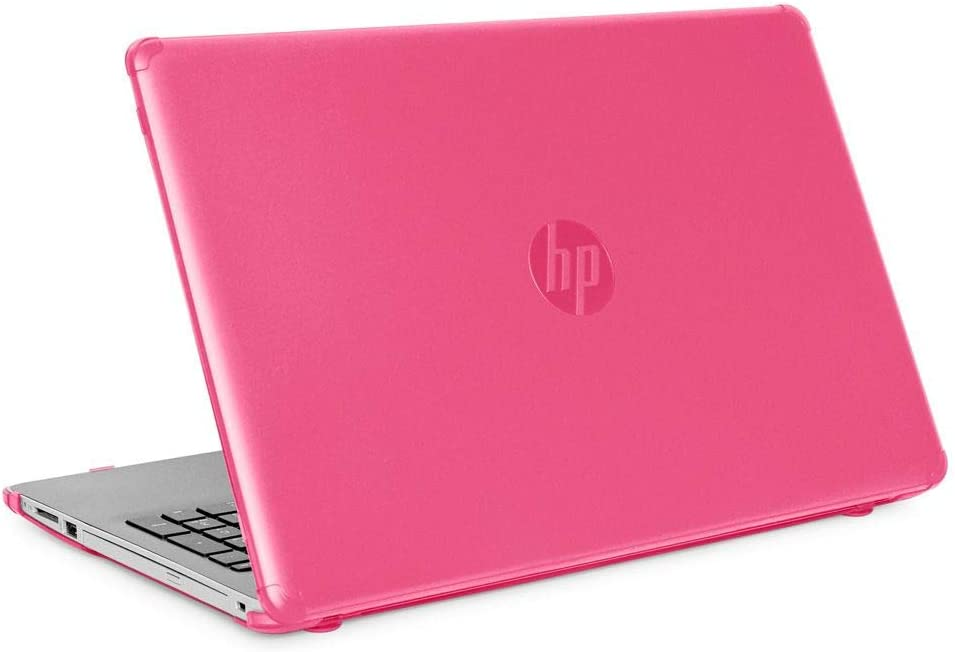 """mCover Hard Shell Case for New 2020 15.6"""" HP 15-DYxxxx Series Notebook PC (Pink)"""