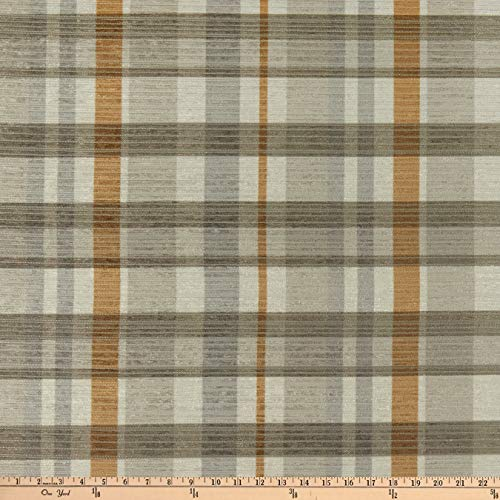 Martha Stewart Bedford Plaid Hi-Lo Ivory, Fabric by the Yard