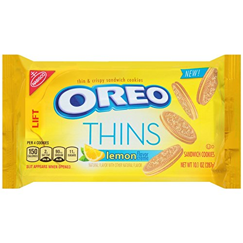 Oreo Golden Thins With Lemon Cream, 10.1 Ounce (Pack Of 3) -