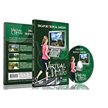 Virtual Walks - Tropical Gardens for indoor walking, treadmill and cycling workouts