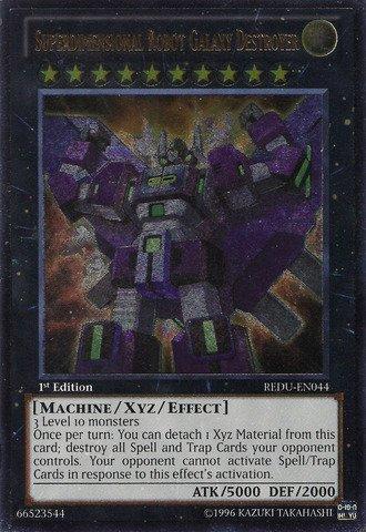 (Yu-Gi-Oh! - Superdimensional Robot Galaxy Destroyer (REDU-EN044) - Return of the Duelist - 1st Edition - Ultimate Rare)