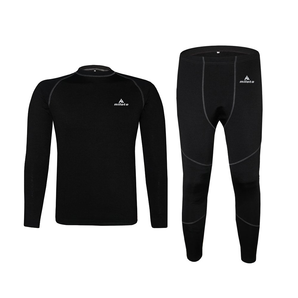 Uriah Unisex Thermal Underwear Sets Long Sleeve Miloto