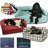 Snoozer Memory Foam Luxury Pet Sofa, Large, Toro Antique Gold, My Pet Supplies