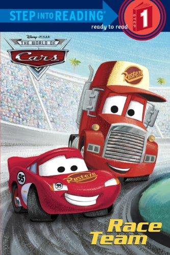 Race Team Disney Pixar Reading ebook product image