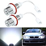 7w led angel lights bmw e39 - HITSAN 7W White LED Angel Eye Halo Ring Marker Light For BMW E39 E53 E60 E61 One Piece