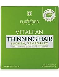 Rene Furterer VITALFAN Dietary Supplement - Sudden, Temporary Thinning Hair, Plant-Based, Biotin, Drug Free, 30 Count