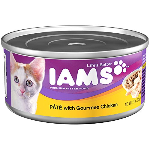 IAMS-Pate-Kitten-Wet-Cat-Food-Chicken-3-oz-Pack-of-24