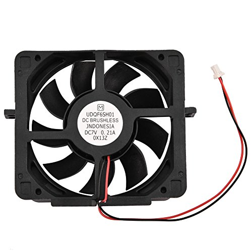 Aramox Computer Case fan DC 7V Replacement Internal Cooling Fan for Sony PS2 PlayStation 2 (Abs Crack Resistant Replacement)