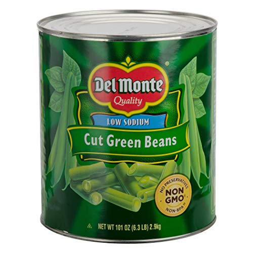 - Del Monte Fancy Cut Green Beans - 101 oz.