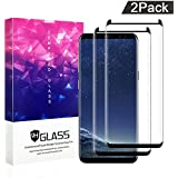 Galaxy S8 Screen Protector,ZUOXI Tempered Glass,9H Hardness[Anti-Scratch][Anti-Fingerprint][Bubble Free] for Samsung Galaxy S8 (2 Packs)
