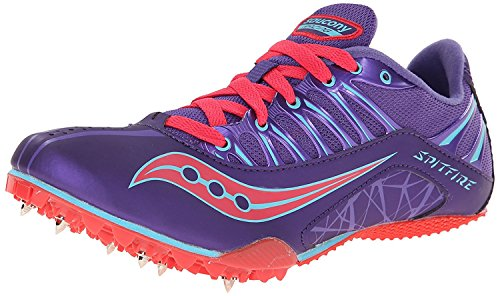 M Pink Shoe Track 5 B Saucony 38 5 Spitfire UK Women's B EU M Purple 5 qXEzg