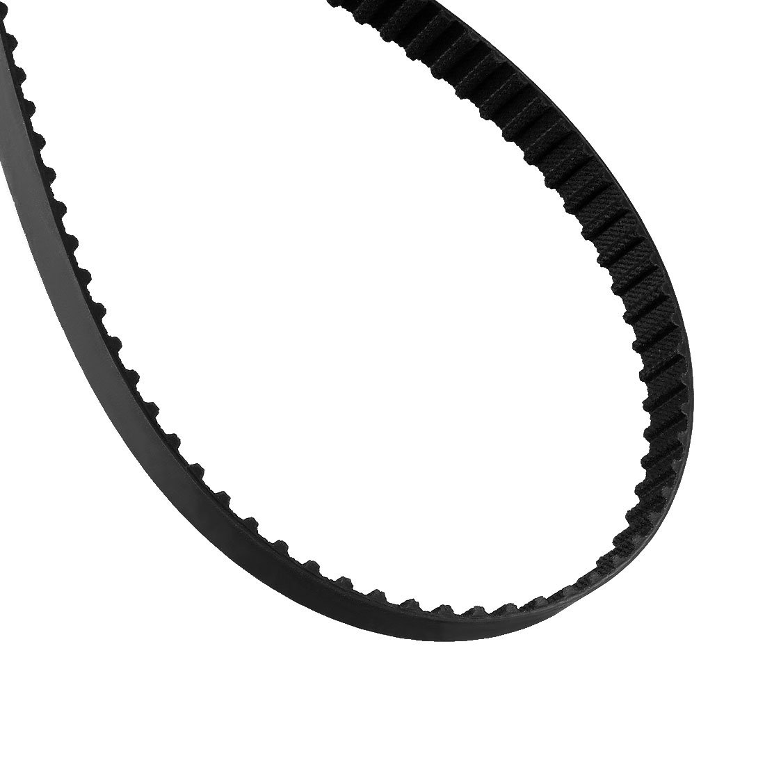 uxcell 278XL 137 Teeth 10mm Width 5.08mm Pitch Stepper Motor Rubber Timing Belt Black a17041800ux2130
