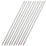uxcell 10 Pcs 1.5mm x 150mm Thoriated Tungsten Electrode for Welding