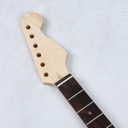 Andoer- Reemplazo de Cuello para Guitarra Eléctrica de ST, cambiar el diapasón de guitarra eléctrica, de madera de color de rosa: Amazon.es: Electrónica