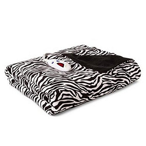 zebra heated blanket - 3