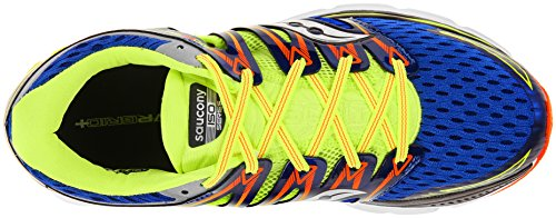 7 Saucony BLUE CITRON ISO US 5 TRIUMPH ORANGE wfwqvXp