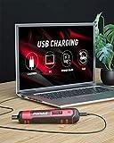 4V Cordless Electric Screwdriver Kit, USB