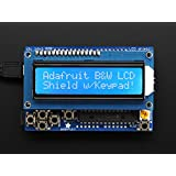 Adafruit LCD Shield Kit w/ 16x2 Character Display - Only 2 pins Used! [ADA772]